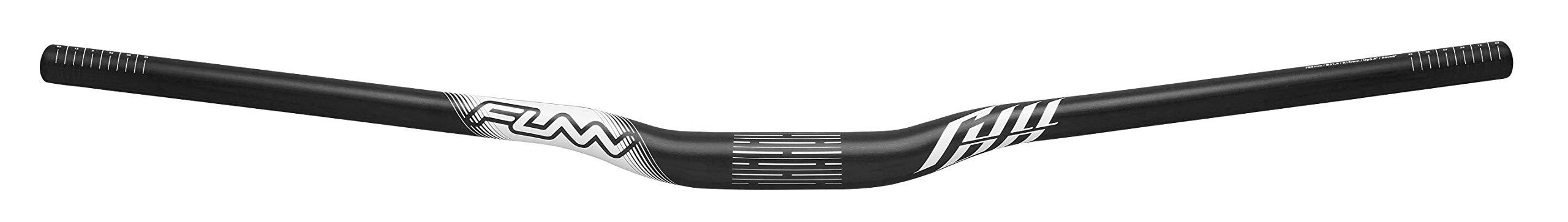 Full On MTB Handlebar, Bar Clamp 31.8mm, Width 785mm (Rise 15mm, Black) by Funn