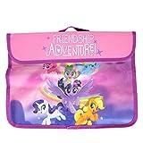 My Little Pony 'Frendship Adventure!' Book Document School Bag Girls Kids Nursery Cartoon Character Pink