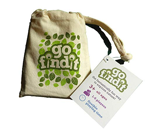 gofindit - Outdoor Nature Scavenger Hunt Card Game for Families (Best Scavenger Hunt Items)