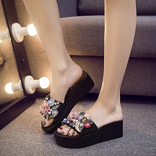 moda antiscivolo spiaggia diamante Alta svago FLYRCX freddo con pantofole lady i da le all'aperto qualità scarpe di di comfort wYxdq7d8T