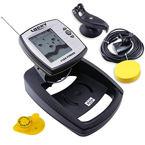 Lucky 2 in 1 Wired 100M and 40M Wireless Boat Fish Finder Fish Finders And Other Electronics Gain Express Holdings Ltd.