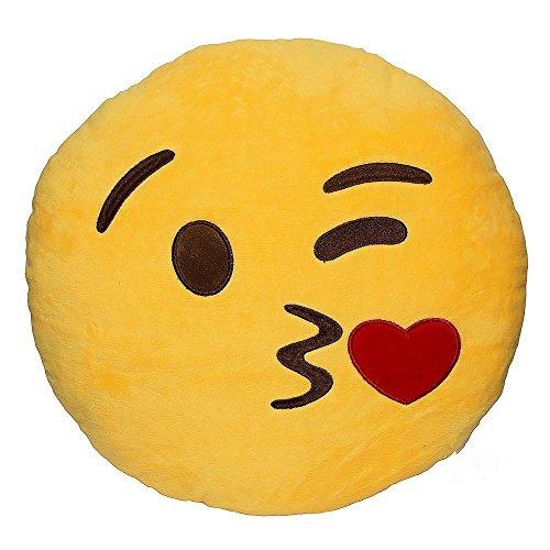 Amazon.com: Rainbow Fox 32 cm Emoji Smiley beso caca ...