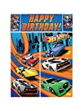 Hot Wheels 'Speed City' Giant Scene Setter Wall Decorating Kit (5pc)