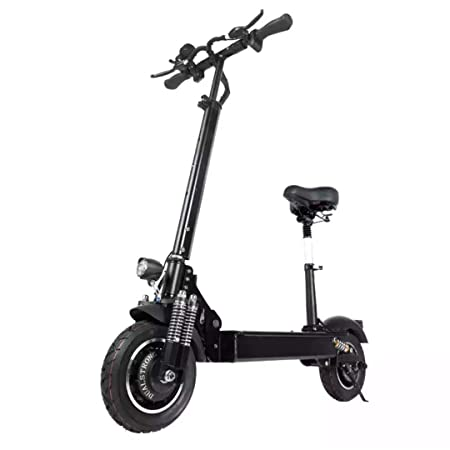 NANROBOT D4+High Speed Electric Scooter -Portable Folding, 40 MPH and 45 Mile Range of Riding, 2000W Motor Power and 330lb Load