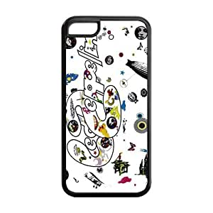 Custom Your Own Led Zeppelin Rock Band Silicon iPhone 5C Case , Best Durable Led Zeppelin iPhone 5C Case