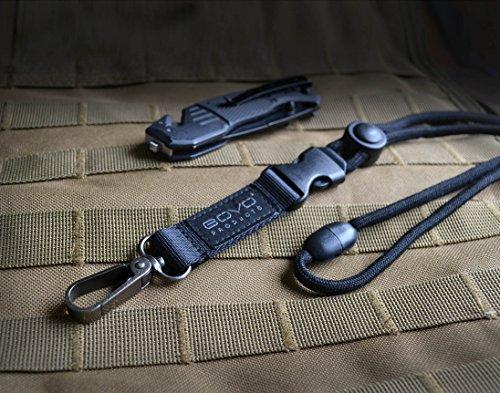 - GOVO T3 Heavy Duty Lanyard,Round Cord,Enhanced Clip Hook,Breakaway Buckle,Safety Breakaway Clip