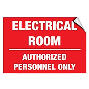 image about Authorized Personnel Only Sign Printable titled : Fastasticdeals Electric Area Permitted