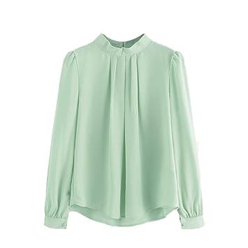 [mujeres camiseta], xinxinyu moda verano [gasa camisa] [de manga larga