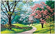 1000 Piece Large Jigsaw Puzzle for Adults - Dream Landscape - 1000 pc Spring Scene Jigsaw Puzzle Game Interesting Toys - Han