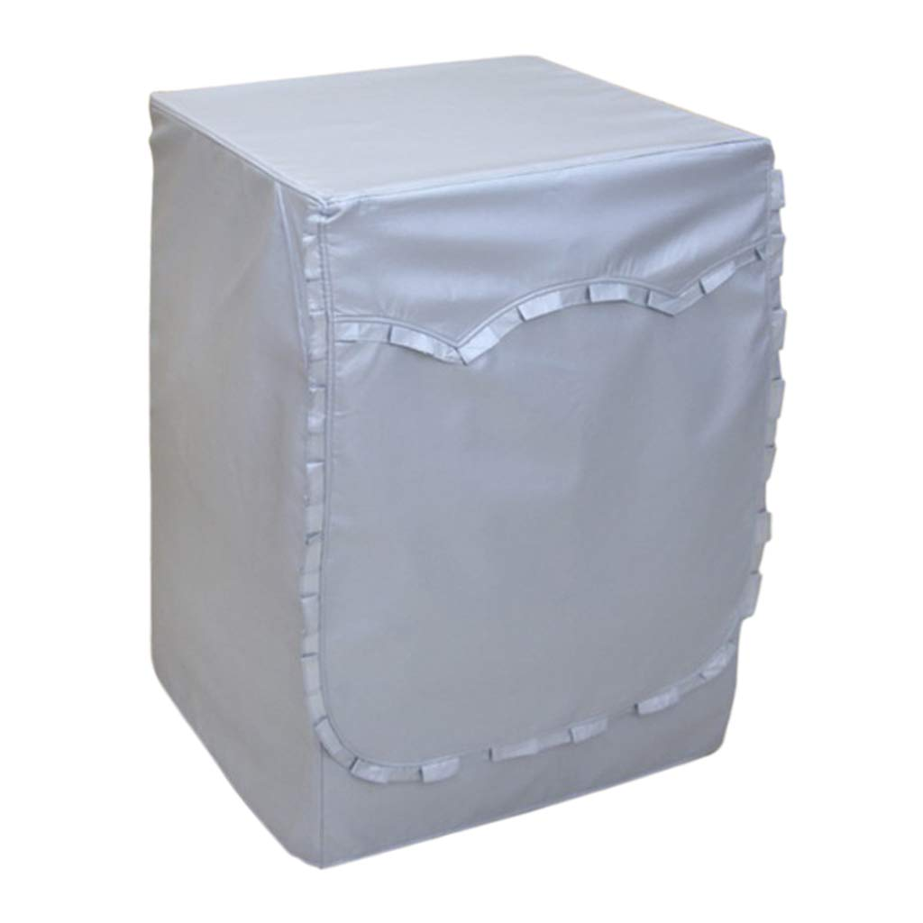 Fityle Household Front Loading Washing Machine Covers Waterproof & Dustproof & Sunproof - Style A_M