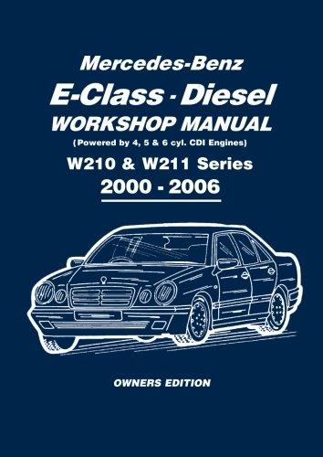 Mercedes Benz E Class Diesel Workshop 2000 2006 product image