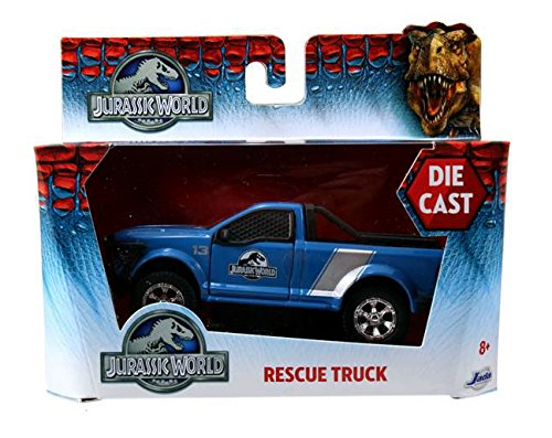 1:32 Scale diecast rescue truck by Jada Jurassic World 2015 Movie