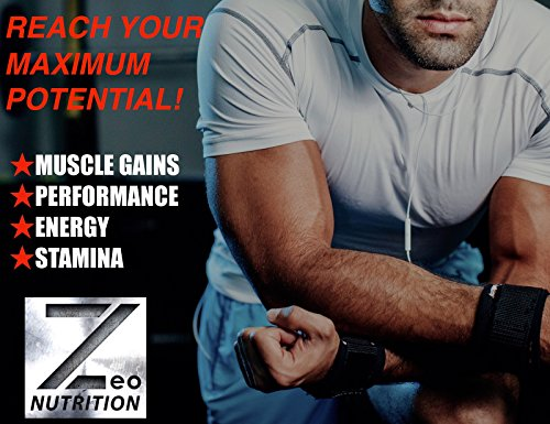 TEST:FORCE - 100% Natural Maximum Strength & Potent Testosterone Booster For Men - Supercharges Vitality, Muscle Mass & Powerful Energy Booster - Full 30-Day Cycle by Zeo Nutrition by Zeo Nutrition (Image #6)