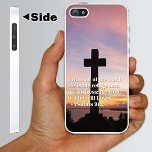"""iPhone 5 Case - Christian Themed- Bible Verse """"Psalms 91:2 Kimberly Kurzendoerfer"""