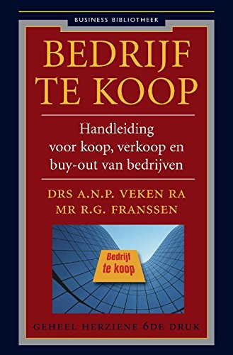 Amazon.com: Bedrijf te koop: handboek voor koop, verkoop en ...