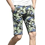 Chenchen Itd Fashion Explosion Men's Casual Loose Sports Five-Point Camouflage Pattern Beach Surf Pants