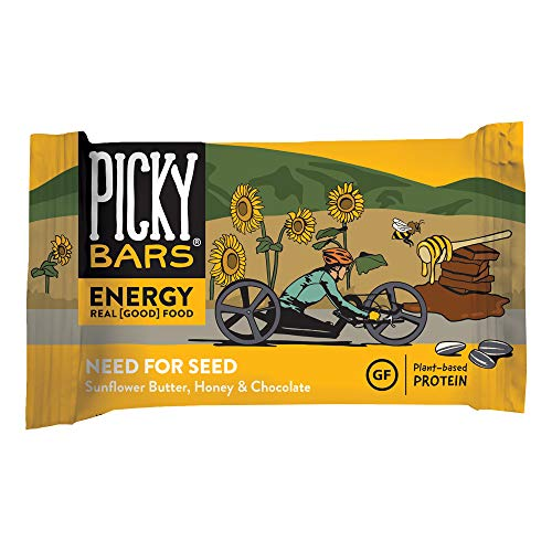 Picky Bars Real Food Energy Bars, Need for Seed, 1.6oz (Pack of 10)