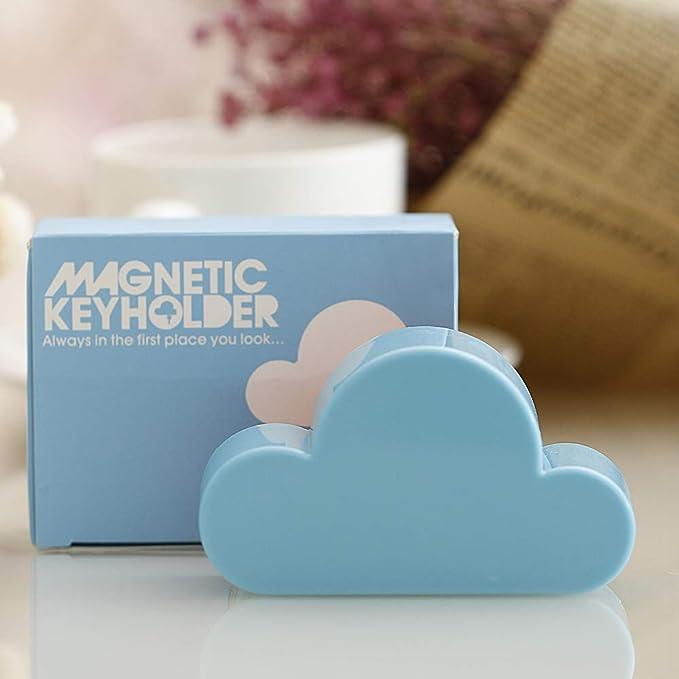 royalr novit/à Cloud Forma Magnetico Magneti Chiave Parete Titolare Portachiavi Holder Chiavi in Modo Sicuro