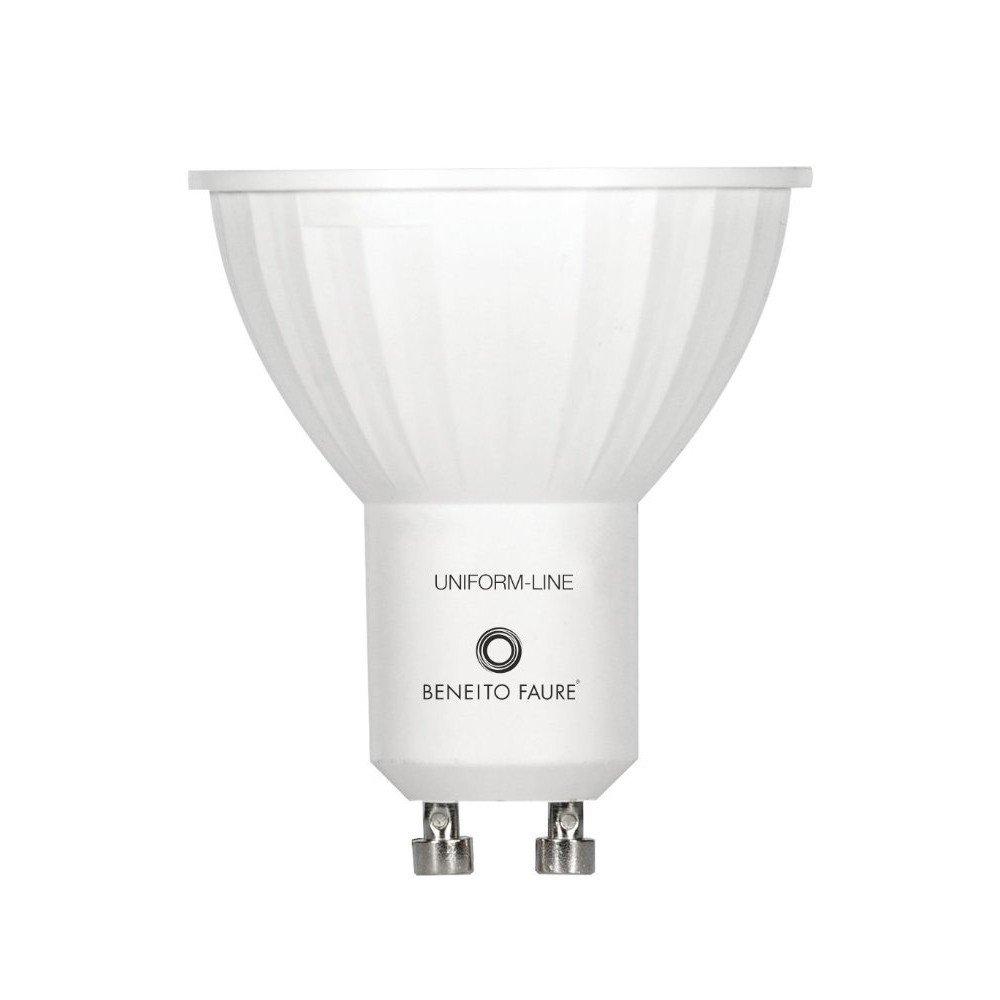 GU10 6W 220V 120º DIMMABLE LED de Beneito Faure - Blanco cálido, GU10, 6W, Regulable, 120º: Amazon.es: Iluminación