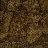 Small Bathroom Flooring Ideas New Rustic Stone Vinyl Floor Tiles 20 Pcs Self-Adhesive Flooring -Actual 12'' x 12''