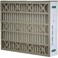 Glasfloss Industries ABP16255M132PK Z-Line Series 500 AB MERV 13 Air Cleaner Replacement Filter Option, 2-Case