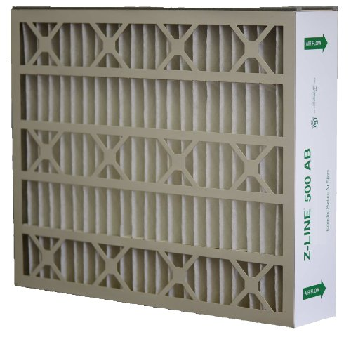 Glasfloss Industries ABP20255M132PK Z-Line Series 500 AB MERV 13 Air Cleaner Replacement Filter Option, 2-Case