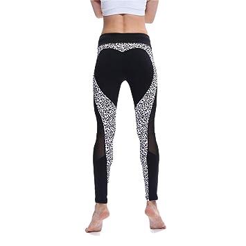 Pantalones Yoga Mujeres Mallas Deportivas, remiendo de las ...