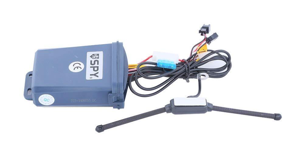 ... 5000 m LCD Pager de 2 vias sistema de alarme da motocicleta com Controle remoto do Motor de partida Start & Sensor de microondas dc12v: Home & Kitchen