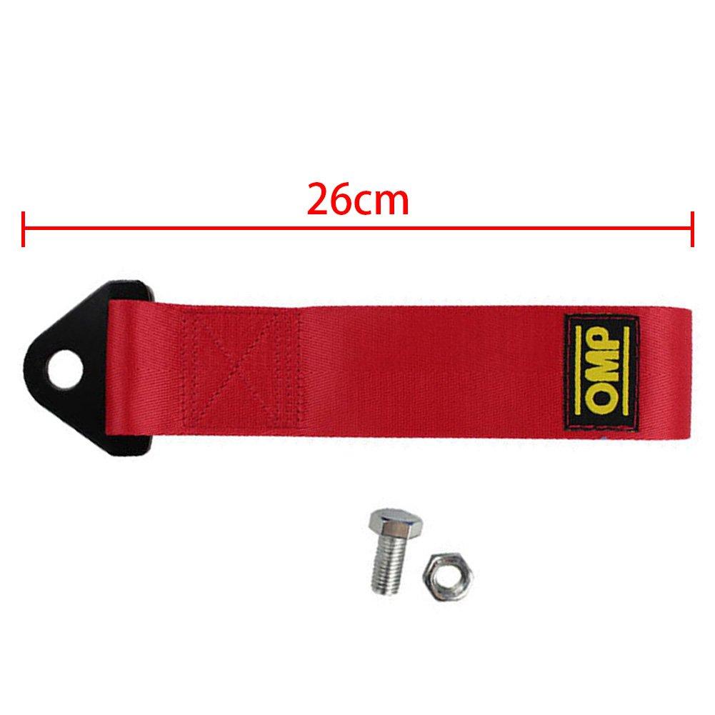 Haute r/ésistance Marque d/écorative free size Red Sangle de remorque en nylon pour pare-chocs avant arri/ère