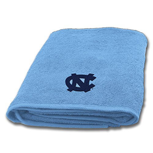 UNC OFFICIAL Collegiate, 25 x 50 Appliqu Bath Towel - by The Northwest Company ()