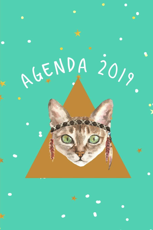 Agenda 2019: Agenda Mensual y Semanal + Organizador I Cubierta con ...