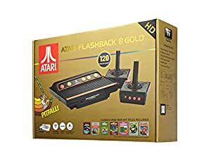 Atari Classic Game Console Flashback 8, Gold Edition (120 Games)