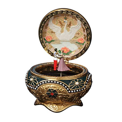 Box Musical Trinket - The San Francisco Music Box Company Anastasia - Alexandra & Nicholas Hinged Trinket Box