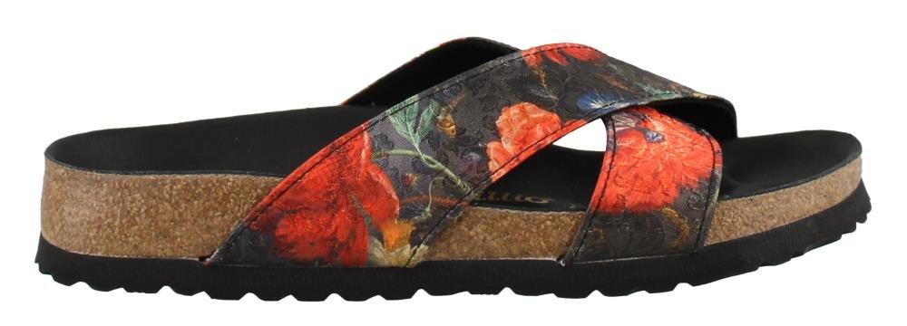 Birkenstock Womens Daytona Lux Sandal Floral Bouquet Size 38 N EU (7-7.5 N US Women)