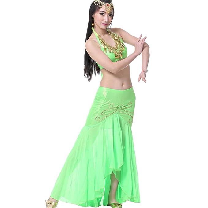 YiJee Vientre Señoras de Las Mujeres de la India Traje de la ...