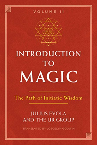 Book cover from Introduction to Magic, Volume II: The Path of Initiatic Wisdom by Julius Evola