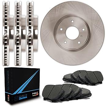Rear Rotors w//Metallic Pad OE Brakes Fits 2008-2015 Rogue Front