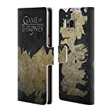 Official HBO Game of Thrones Westeros Map Key Art Leather Book Wallet Case Cover for Samsung Galaxy S8