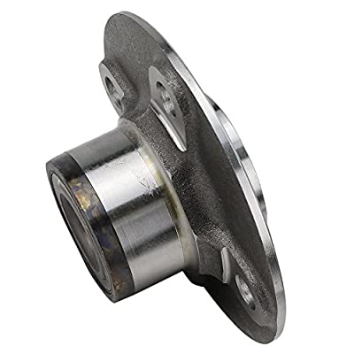 Bodeman - Pair 2 Rear Wheel Hub & Bearing Assemblies 4 Lug w/o ABS for 2000-2006 Nissan Sentra: Automotive