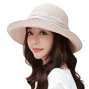 Siggi Womens UPF50 Packable Summer Sun Hat Wide Brim Flipped Up/Down 56-59CM