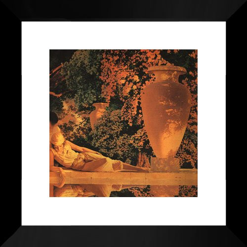The Garden of Allah [detail] 20x20 Framed Art Print by Parrish, Maxfield - Maxfield Parrish Garden