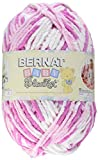 Bulk Buy: Bernat Baby Blanket Big Ball Yarn (2-Pack) Pink Dreams 161104-4412