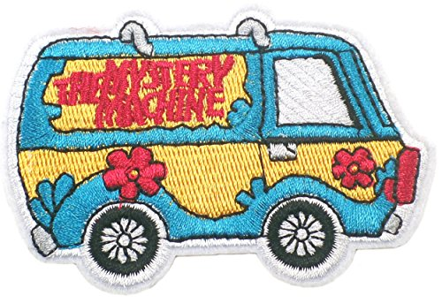 Great Features Of Scooby-Doo MYSTERY MACHINE 2 1/4 Tall Embroidered PATCH
