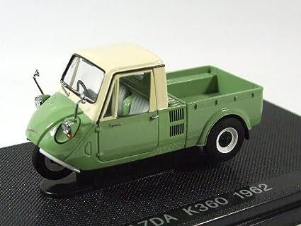 Amazon Com Ebrro 1 43 Mazda K360 3 Wheel Truck 1962 Light Green
