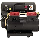 Thomas Compressors T-2820ST 13.5 Amp 2-Horsepower 4-Gallon Oil-Free Twin Hot Dog Compressor