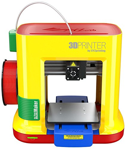 da Vinci miniMaker 3D Printer -6'x6'x6' Built Volume (Includes: $14 300g PLA Filament, $49 STEAM 3D Design Tutorial eGift Card – Must Register Product, $10 Maintenance Tools, XYZmaker CAD Software)