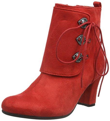 Casa 3612711 Andrea Conti Mujer Estar para por Zapatillas Rojo De TYB7xBq