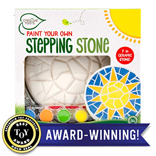 (Creative Roots Paint Your Own Mosaic Sun Stepping Stone by Horizon Group USA)