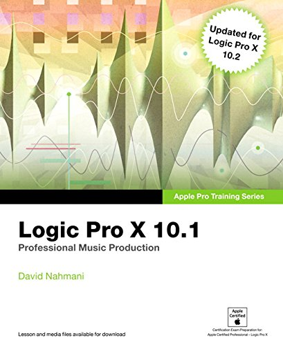 Logic Pro X 10.1: Apple Pro Training Series: Professional Music Production by imusti
