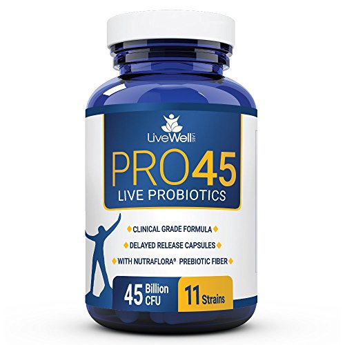 PRO45: #1 CLINICAL GRADE Probiot...